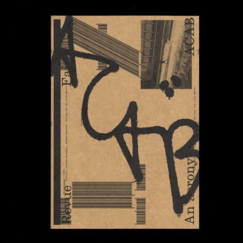Couverture n°17 Un acronyme : ACAB.  Par Ariane Bosshard, Jérôme Dupeyrat, Olivier Huz et Julie Martin.