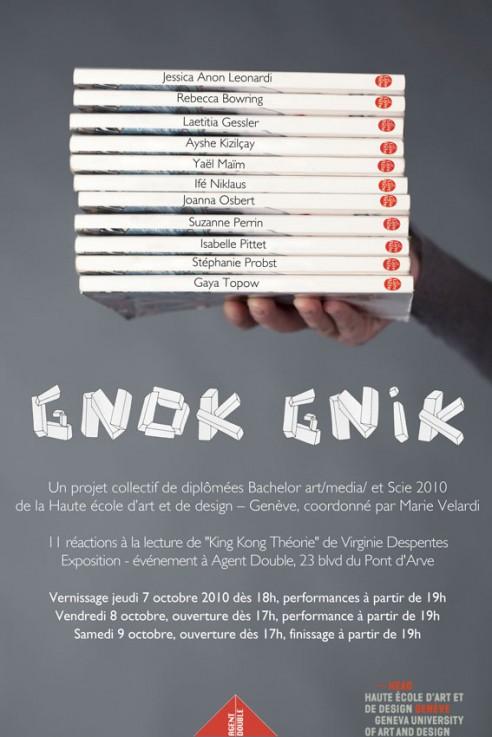 Affiche 'Gnok Gnik'