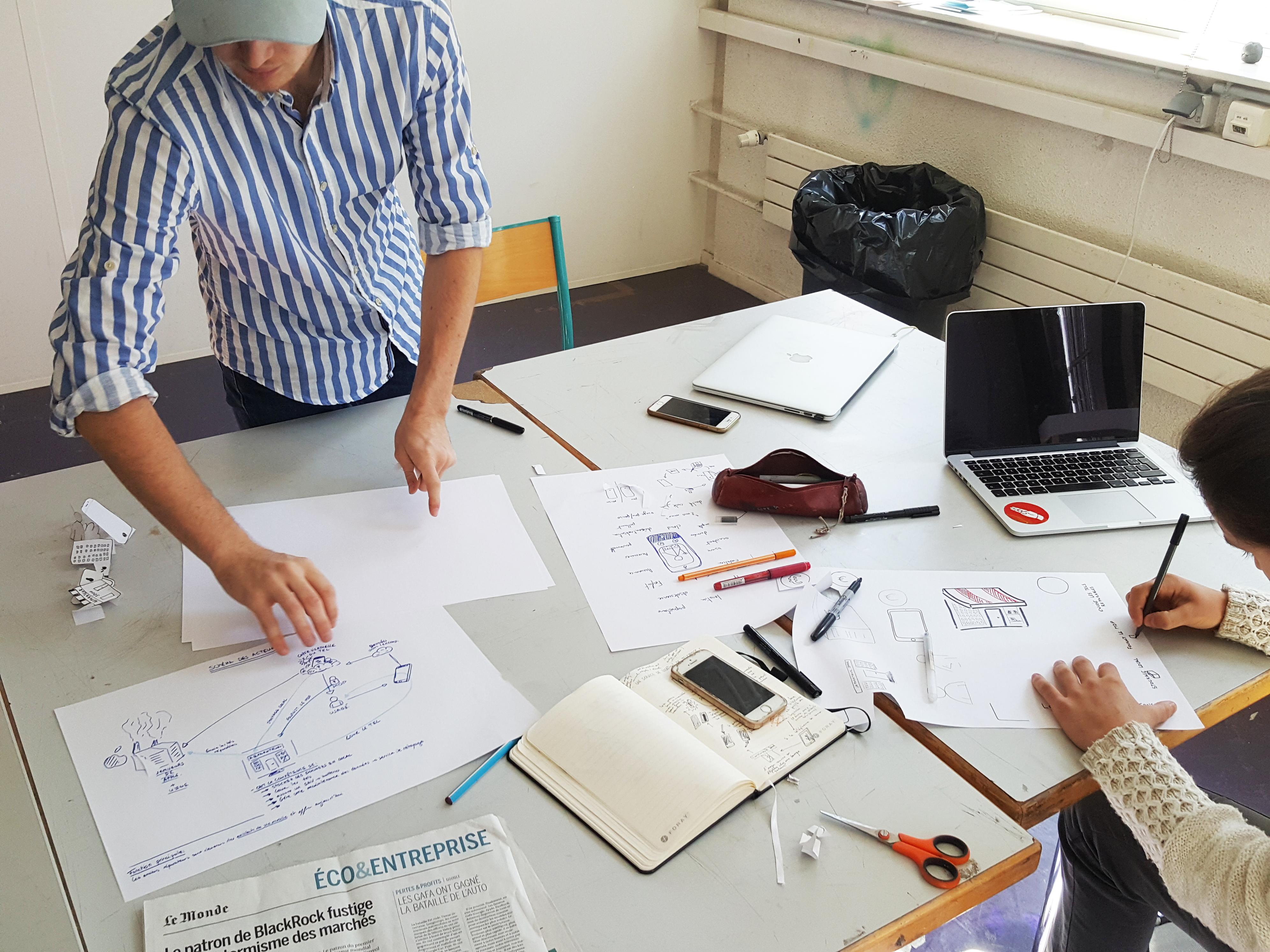 Workshop à l'ENSCI – les Ateliers